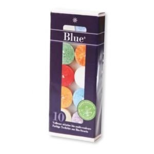 Boite de 10 Veilleuses multicolores - Ecodis