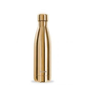 Bouteille isotherme inox - metallic gold - 500 ml - Qwetch