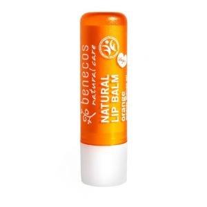 Baume à lèvre naturel - Orange - Benecos