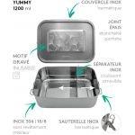 LunchBox Yummy Ginkgo 1200 m - GaspaJOE