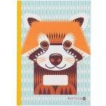 Cahier écriture Panda roux - Coq en Pâte