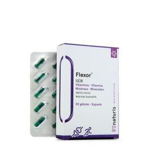 Action 3 pour 2 - Flexor Vitamines - 3 x 30 gélules - B'Onaturis