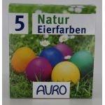 Couleurs naturelles pour oeufs - Auro