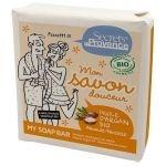 Savon Bio Argan parfum Amande-Noisette 100 gr - Secrets de Provence