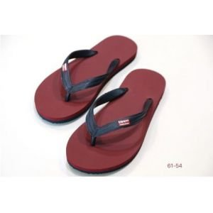 Tongs Burgundy Dark Grey - Hippobloo