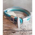 Bracelet Louise - Bleu Canard - Millescence