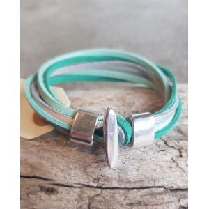 Bracelet Louise - Vert - Millescence