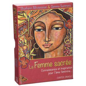 La femme sacrée : Connaissance et inspiration pour l'âme féminine... Avec 48 cartes oracle - Shushann Movsessian