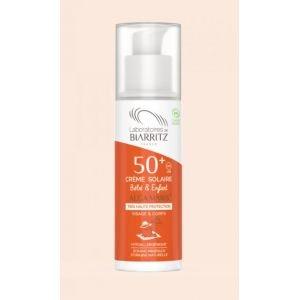 Crème solaire Enfant SPF50+ - 50ml certifiée Bio - Biarritz