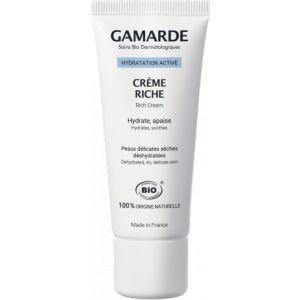 Crème riche hydratante - Gamarde