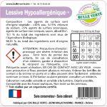 Étiquettes réglementaires Hypoallergénique x50 - Bulle Verte