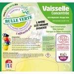Casquette Liquide Vaisselle 20 kg - Bulle Verte