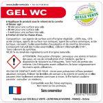 Étiquettes réglementaires Gel WC x50 - Bulle Verte