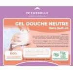 Casquette Gel douche Neutre 20 kg - Cosmébulle