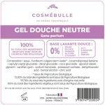 Étiquettes réglementaires Gel Douche Neutre x50 - Cosmébulle