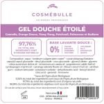 Étiquettes réglementaires Gel Douche Étoilé x50 - Cosmébulle