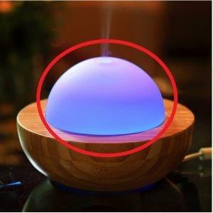 Dôme en verre pour Belisia V.2 - Zen'Arôme