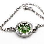 Bracelet d'Aromathérapie Papillon Abstrait - Zen'Arôme