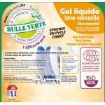 Casquette Gel Lave-Vaisselle 20 kg - Bulle Verte