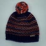 Bonnet à pompon Lumi Kids - Marine - Eisglut