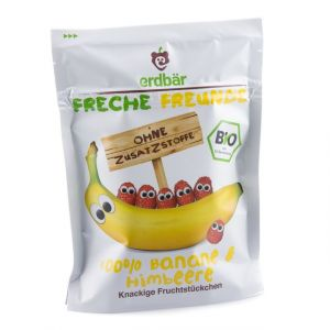 Chips de bananes & framboises - Freche Freunde