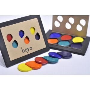Set de 6 crayons - Rainbow - Boya