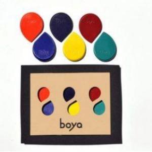 Set de 6 crayons - Mediteraneo - Boya