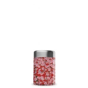 Travel soupe isotherme inox - Flowers - rouge - 340ml - Qwetch