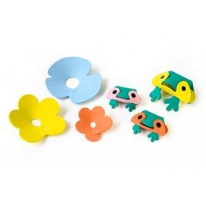Puzzle pour le bain - Frog Pond- Quut