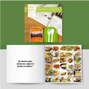Recettes Lunchboxes sans gluten - Géraldine Romerio