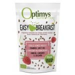 Easy Breakfast framboise, lin, chia Bio 350g - Optimys