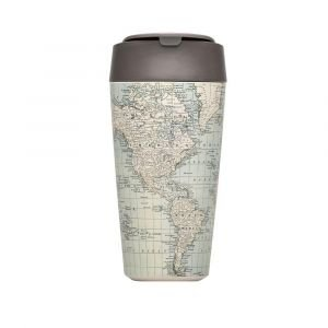 Coffe to Go - Antique map - 420ml - Chic Mic