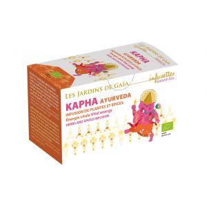 Kapha Ayurveda Vitale - Infusion de plantes et épices - Les Jardins de Gaïa