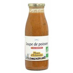 Soupe de Poisson bio au Saumon - Phare d'Eckmühl