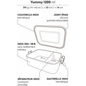 Joint de rechange pour Yummy 1200 ml - GaspaJOE