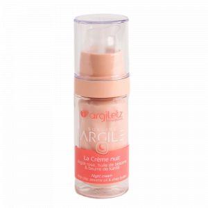 Argile rose crème de nuit 30ml - Argiletz