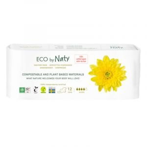 Naty serviettes hygiéniques Super - 12 pcs - Naty