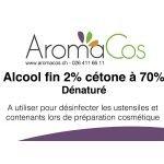 Alcool fin 2% cétone à 70%