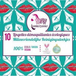 Recharge de 10 lingettes démaquillantes lavables - Lamazuna