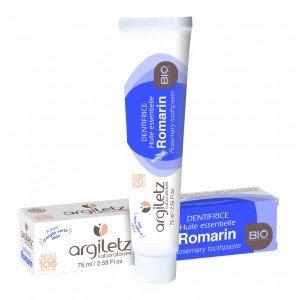 Dentifrice Romarin BIO 75 ml - Argiletz