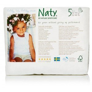 Eco Couches Pants Naty Taille 5 Junior 12 18 Kg 20 Pcs