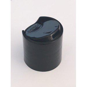 Bouchon disc top noir DIN 24