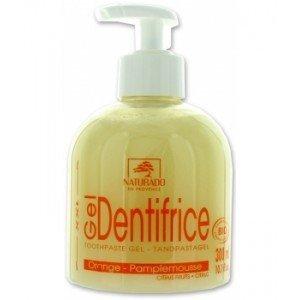 Dentifrice Gel Agrumes, Naturado, 300 ml