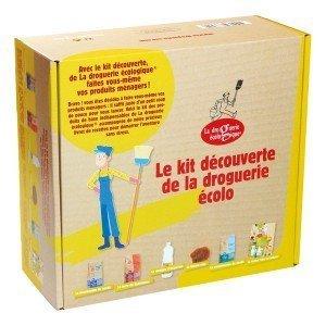 Coffret Kit découverte droguerie écologique
