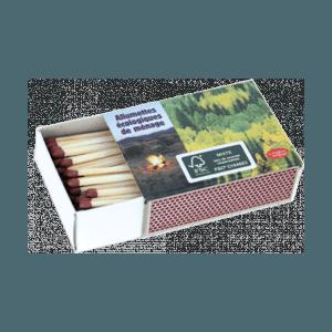 4 boîtes 100 allumettes cuisine FSC Mixte 70 %
