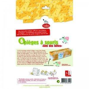 """kit 6 pièges à souris """"Amis des Bêtes"""""""