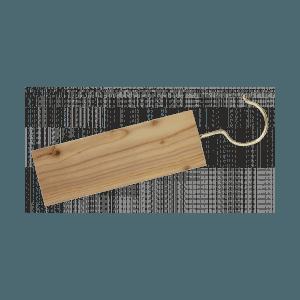 1 tablette cèdre à suspendre