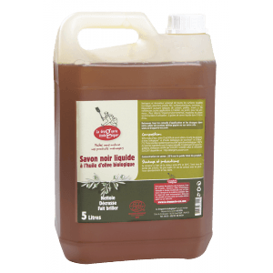 Savon noir liquide olive Bio 5 l