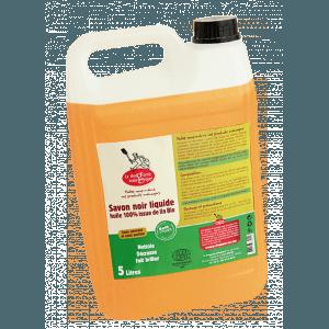 Savon noir liquide 100% Lin bio 5 L