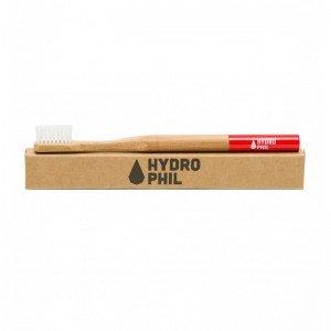 Brosse à dents en bambou Rouge Medium-Soft - Hydrophil